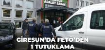 Giresun'da FETÖ üyesi eski binbaşı tutuklandı