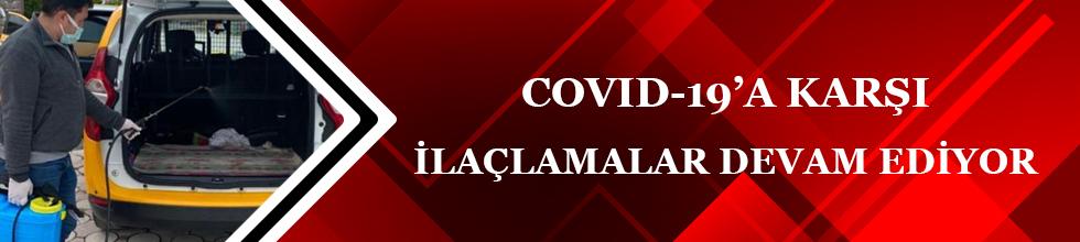 COVİD-19 BİRİMİ DEZENFEKTE ÇALIŞMALARINA DEVAM EDİYOR