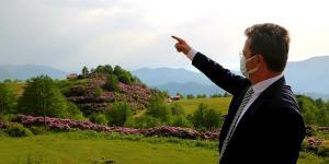 """Vali Ünlü """"Özenle yapılmış botanik bahçesi bile bu kadar güzel olamaz"""""""