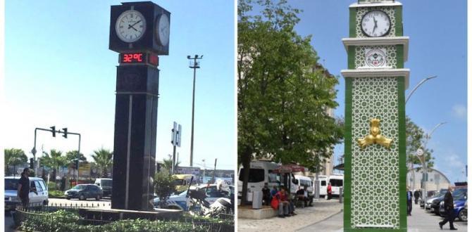 Giresun Belediyesi'nden saat kulesi açıklaması