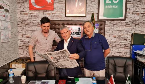 Vekil Aydın'dan Gazetemize Ziyaret